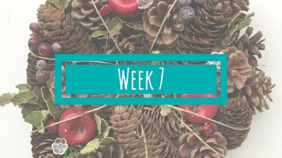Week 7 en vakantie!