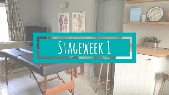 Stageweek 1 van de BSR Academy